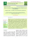 Effect of torrefaction on physio-chemical properties of paddy straw and its size reduction