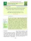 Design, fabrication and evaluation of wheel operated sprayer