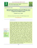 Appraisement of total organic carbon under different levels of +nitrogen in different size soil aggregates in cereal-pulse based cropping system in rained condition