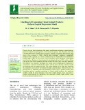 Likelihood of consuming cloned animal products: Ordered logistic regression model