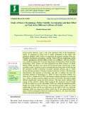 Study of flower morphology, pollen viability, germination and their effect on fruit set in different cultivars of litchi