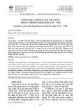 Những hạn chế của vua Càn Long trong thời kì cầm quyền (1735 – 1796)