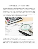 5 hạn chế của báo cáo tài chính