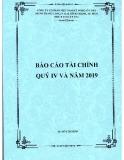 Báo cáo tài chính quý 4 và năm 2019 - Công ty cổ phần Việt Nam Kỹ nghệ Súc sản