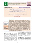 The microbiology quality analysis of the waters of riuapa river and its impact on the environment
