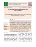 Microbial quality and storage stability of millet based high fiber food mix