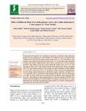 Effect of different plant growth regulators on in-vitro callus induction in carica papaya (cv. Pusa Nanha)