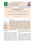 Growth and instability of major millets in Andhra pradesh, India