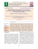 Effect of integrated weed management on growth, yield, yield attributes and economics of linseed (Linum usitatissimum L.) under south Gujarat condition