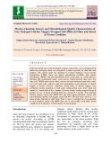 Physico-chemical, sensory and microbiological quality characteristics of tray packaged chicken nuggets wrapped with different films and stored at frozen condition