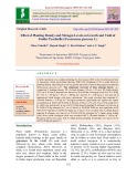 Effect of planting density and nitrogen levels on growth and yield of fodder pearlmillet (Pennisetum glaucum L.)
