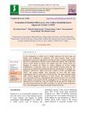 Evaluation of sterilant effect on in-vitro culture establishment in sugarcane variety Co 0118