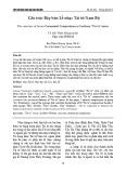 Cấu trúc Bảy bản Lễ nhạc Tài tử Nam Bộ