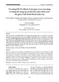 Tư tưởng Hồ Chí Minh về tôn giáo và sự vận dụng tư tưởng đó trong quá trình thực hiện chính sách tôn giáo ở tỉnh Bình Phước hiện nay