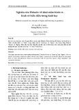 Nghiên cứu Didactic về khái niệm hình và hình vẽ biểu diễn trong hình học