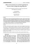 Khảo sát việc dịch ẩn dụ của thành ngữ biểu thị cảm xúc Giận từ tiếng Anh sang tiếng Việt