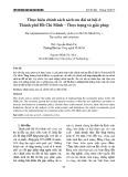 Thực hiện chính sách sách ưu đãi xã hội ở Thành phố Hồ Chí Minh – Thực trạng và giải pháp