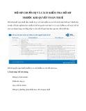 Hồ sơ chuẩn bị và cách kiểm tra hồ sơ trước khi quyết toán thuế