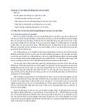 Giới thiệu hệ thống báo cáo tài chính