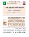 Correlation and path coefficient analysis for yield contributing traits and grain zinc concentration in biofortified inbred lines of maize (Zea mays L.)