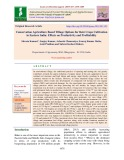 Conservation agriculture based tillage options for Rabi crops cultivation in eastern India: Effects on productivity and profitability