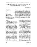 Xác định tính chất nhiệt vật lý và thời gian cấp đông mực ống (Loligo chinensis) bằng phương pháp giải tích