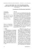 Khảo sát một số hợp chất có khả năng kháng oxy hóa, kháng khuẩn và kháng nấm của cao chiết lá bình bát nước (Annona glabra L.)