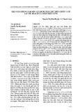 Khả năng kháng nấm mốc gây bệnh thán thư trên chuối và ớt sau thu hoạch của dịch chiết gừng