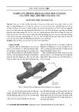 Nghiên cứu phương pháp gia công dầm cân bằng của cổng trục 200T trên máy doa CNC