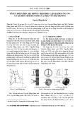 Tối ưu động học hệ thống treo độc lập hai đòn ngang có kể đến tính đàn hồi của phần tử dẫn hướng