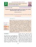 Evaluation of microbial antagonists against sarocladium oryzae causing sheath rot disease of rice (Oryzae sativa L.)