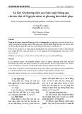 Sai lầm về phương diện suy luận logic thông qua cấu trúc đại số: Nguyên nhân và phương thức khắc phục