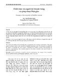 Chiến lược của người kể chuyện trong các pháp thoại Phật giáo