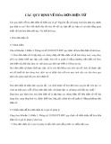 Các quy định về hóa đơn điện tử