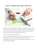 Nội dung phương pháp chứng từ kế toán