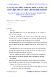 Tổng hợp bài giảng Phương pháp nghiên cứu khoa học của cô giáo lớp BĐS 50B-ĐHKTQD