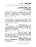 Nghiên cứu đề xuất các tham số của công trình giảm sóng, gây bồi đối với khu vực Hải Hậu - Nam Định