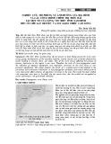 Nghiên cứu, mô phỏng sự ảnh hưởng của địa hình và các công trình chỉnh trị trên bãi tại một số cửa sông, ven biển tỉnh Nam Định đến cơ chế lan truyền và suy giảm chiều cao sóng