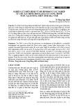 Nghiên cứu điển hình về mô hình đơn vị sự nghiệp tự chủ tài chính trong quản lý công trình nước sạch nông thôn tỉnh Trà Vinh
