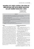 Nghiên cứu triệu chứng lâm sàng và biến đổi đại thể chó bị bệnh giun đũa do gây nhiễm Toxocara canis