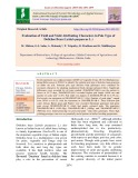 Evaluation of yield and yield attributing characters in pole type of dolichos bean (Lablab purpureus L.)