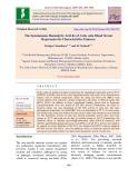 The spontaneous haemolytic activity of Catla catla blood serum represents the characteristics features