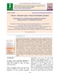 A review - Biocontrol agent: A boon for sustainable agriculture