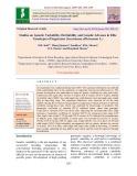Studies on genetic variability, heritability and genetic advance in elite genotypes of sugarcane (Saccharum officinarum L.)