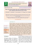 Study of the socio-economic status and consumption pattern of green leafy vegetables among selected of farm women