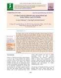 A critical analysis of diet diversity among infants and young children aged 6-24 months