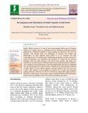 Development and fabrication of small capacity garlic peeler