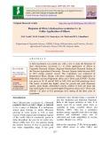 Response of Okra (Abelmoschus esculentus L.) to foliar application of silicon