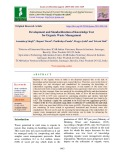 Development and standardization of knowledge test for organic waste management