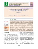 Assessing pulse production in India – Application of decomposition and instability analysis
